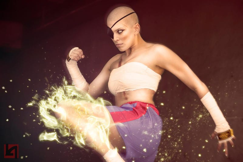 Illustration for article titled This Street Fighter Cosplay Will Kick Your Ass
