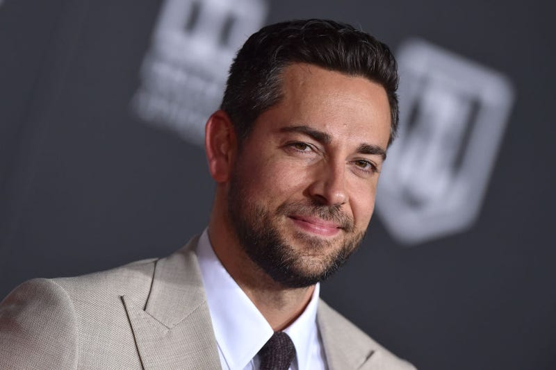 Captain Marvel (no, not that one) himself, Zachary Levi (Photo: Axelle/Bauer-Griffin/FilmMagic via Getty Images)