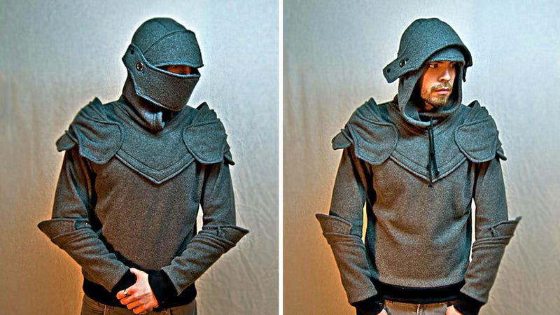 Illustration for article titled Medieval Hoodie Makes You a Knight In Shining Cotton