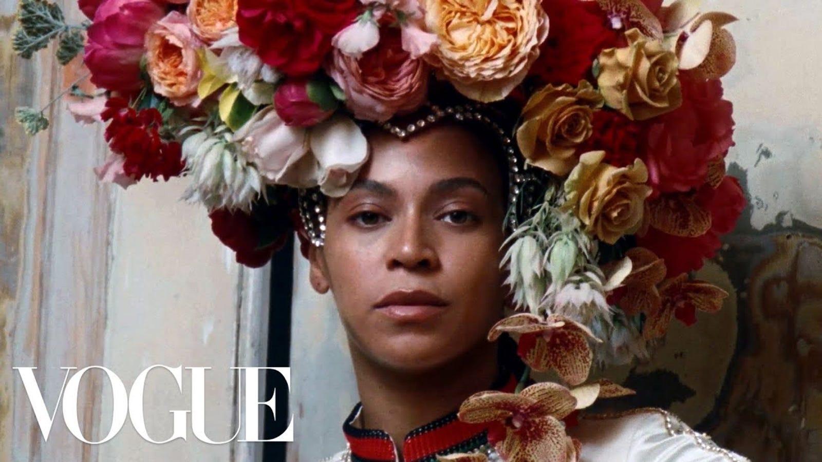 Zoom In: Vogue Brings Us Behind the Scenes of Beyoncé's September Issue
