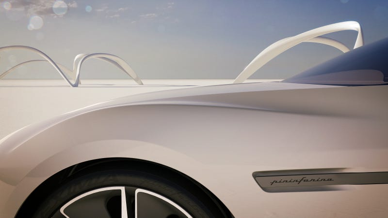 Illustration for article titled Ribbons Tease The Pininfarina Cambiano