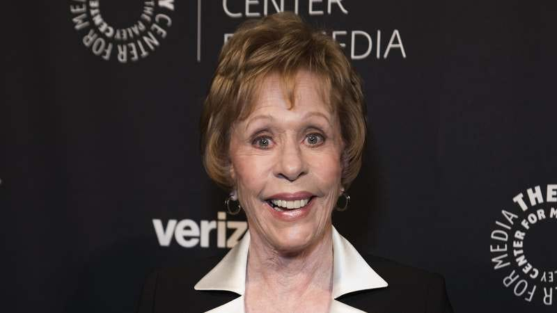 Carol Burnett attends The Paley Honors on May 17 in New York. (Photo: Jenny Anderson/WireImage/Getty Images)