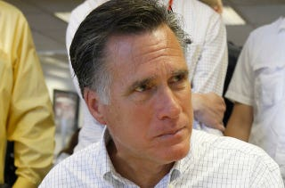 Illustration for article titled Romney Refuses To Sign Anti-Gay Marriage Pledge [UPDATED]