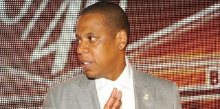 Jay-Z's new album could be certified platinum the day of its release. (Ben Gabbe/Getty Images)