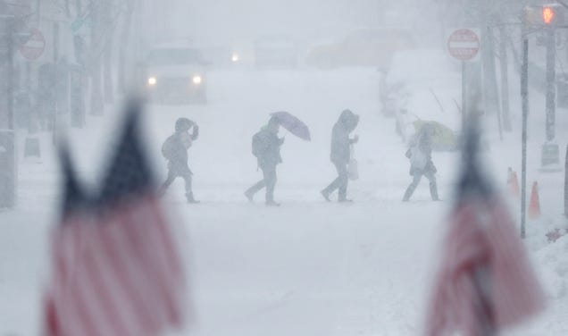 National Weather Service Data System Went Down During a Blizzard This Week