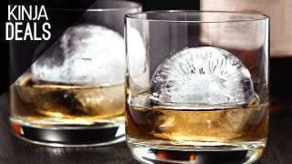 Illustration for article titled Class Up Your Cocktails with These Cheap Spherical Ice Molds