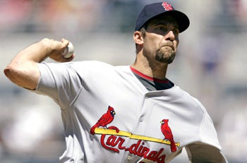 Illustration for article titled Cardinals Bullpen Fixes John Smoltz In Five Minutes