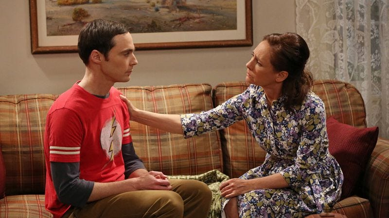 """Illustration for article titled The Big Bang Theory: """"The Mommy Observation"""""""