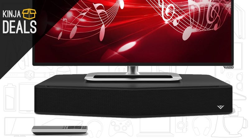 Illustration for article titled The Perfect Sound System For Your Secondary TVs Is Just $78 Today