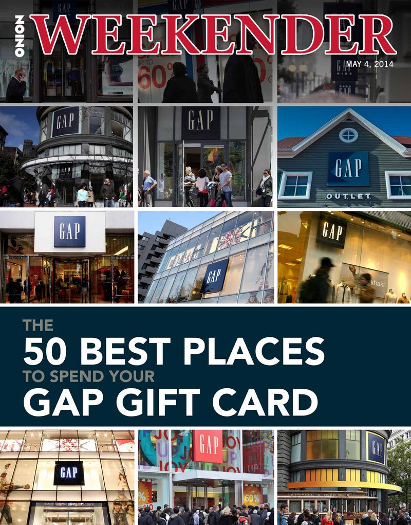 the 50 best places to spend your gap gift card - Gift Card Places