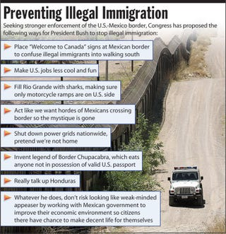 Illustration for article titled Preventing Illegal Immigration
