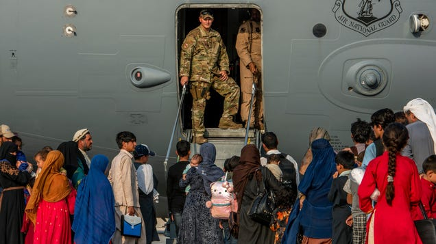 Afghan Refugees Are Trapped on a U.S. Base in Qatar Without Air Conditioning Amid 107-Degree Heat