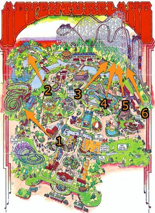 Illustration for article titled Web Site Theme Park Maps Lets You Plan Your Attack Before You Get There