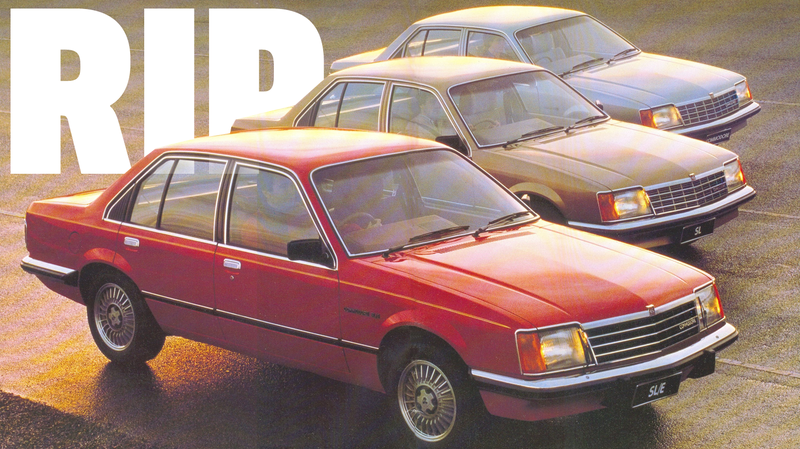 Illustration for article titled Australia's Once-Beloved Holden Commodore Is Now Dead