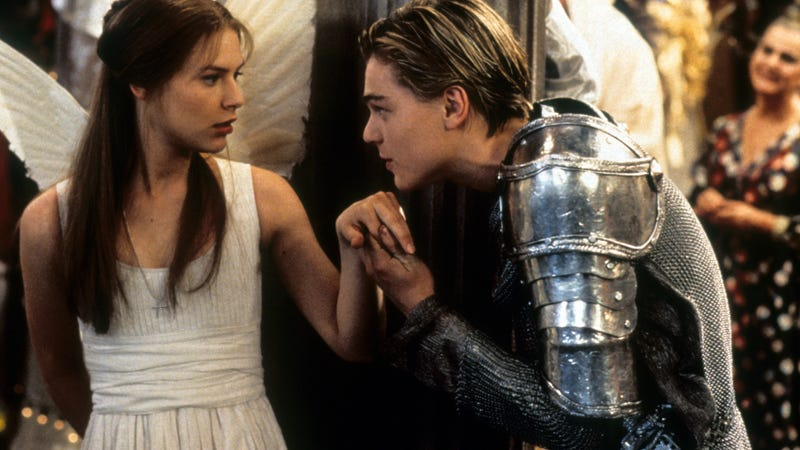 Claire Danes and Leonardo DiCaprio in Romeo + Juliet (Photo: 20th Century-Fox/Getty Images)