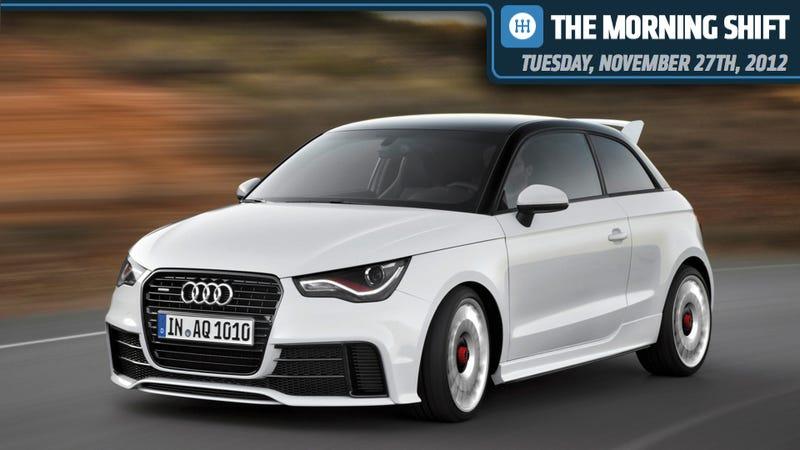 Illustration for article titled Audi Prepping 282 MPG Car, GM Has A Genius Idea, And Joel Ewanick Gets Himself A Job