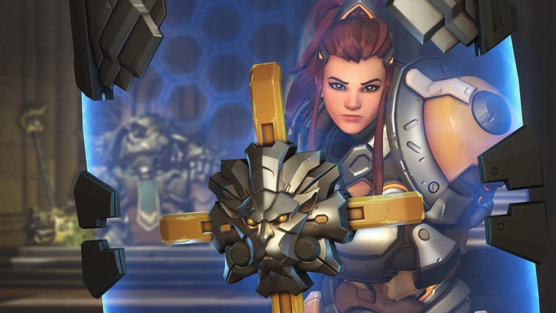 Illustration for article titled Brigitte Arrives In Overwatch's Competitive Mode, Makes Tanks Miserable