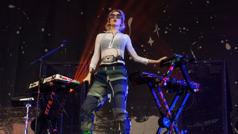 Grimes would like to be a hologram now, please