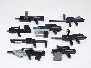 Illustration for article titled Gallery: 10 Coolest Lego Weapons to Slay the Easter Bunny With