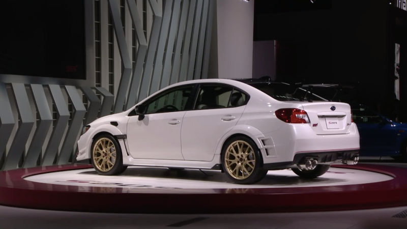 Illustration for article titled Are WRX STi S209s on sale yet?