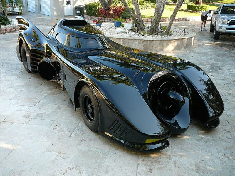 Illustration for article titled Here's Your Chance to Own the Real Batmobile