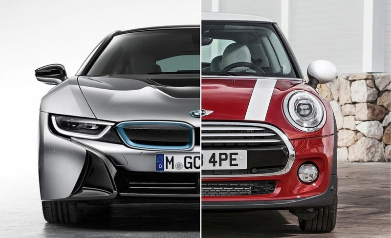 Did You Know That The 2014 Mini Cooper And Bmw I8 Share An Engine