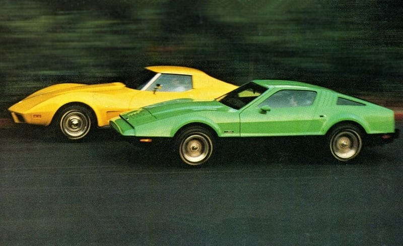 Canada in car form, racing America in car form.