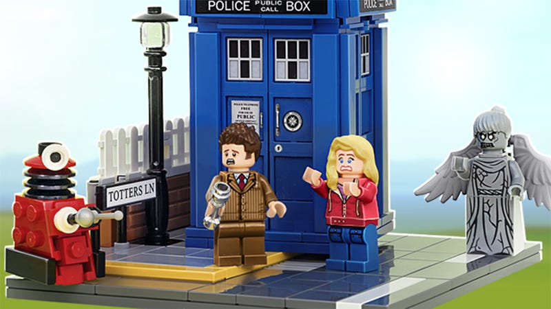 Illustration for article titled We're Dangerously Close To Getting An Official Doctor Who LEGO Set