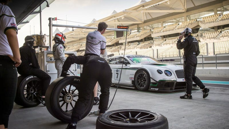 Illustration for article titled Continental GT3 Makes Strong Start To Racing Career