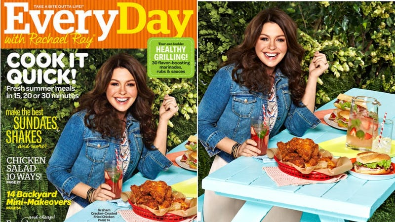 Illustration for article titled WTF Is Happening On This Month's Every Day With Rachael Ray Cover?