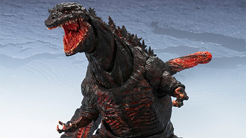 Illustration for article titled Japan's New Godzilla Makes for a Beautifully Monstrous Action Figure