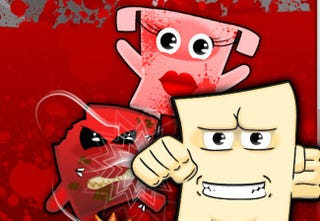 Illustration for article titled PETA Roasts Super Meat Boy With Tofu