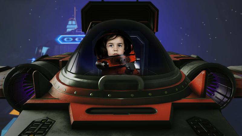 Illustration for article titled Upcoming No Man's Sky Fan Film Stars A Five-Year-Old and A Pro Wrestler