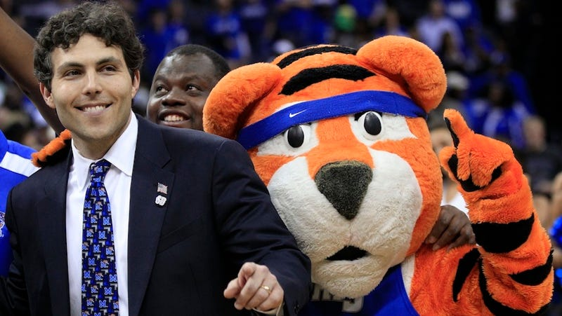 """Illustration for article titled Memphis Coach's Explanation For NCAA Violation: """"My Wife Was Yelling At Me"""""""