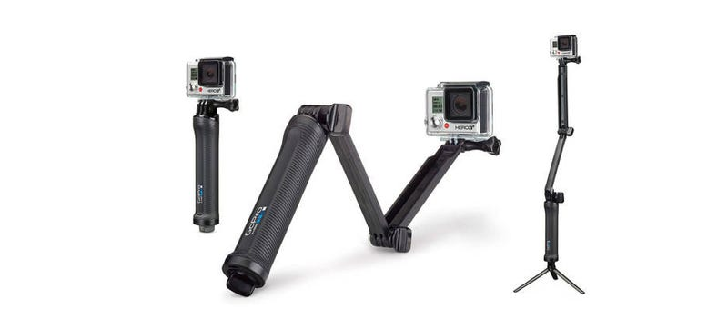 Illustration for article titled New GoPro Arm Gives You Some Added Reach and Stability
