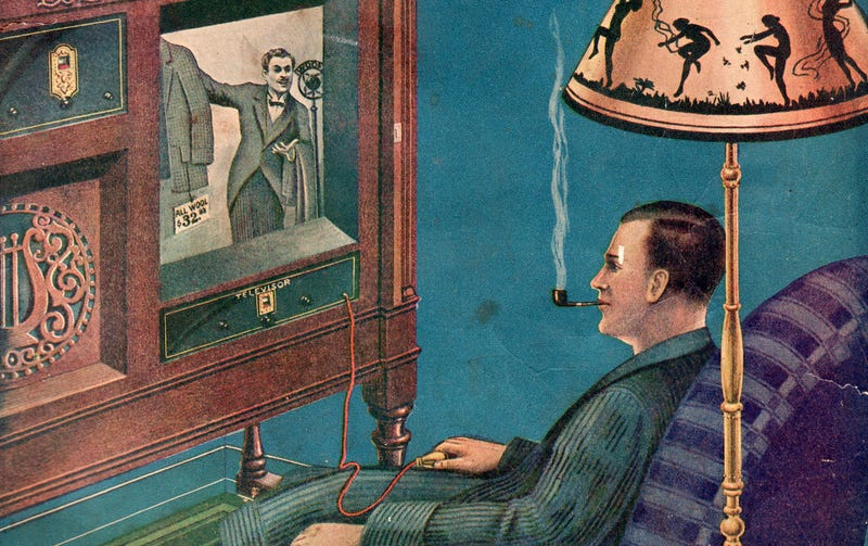 Illustration for article titled The First Movie On TV Was In Theaters At The Time