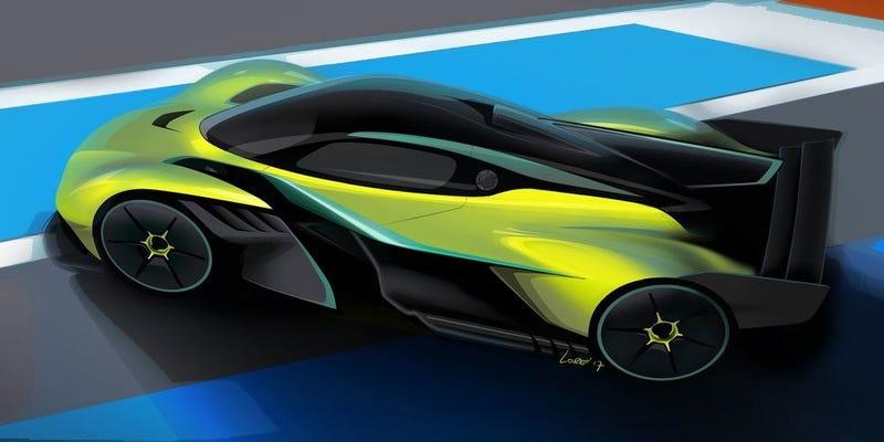 Imágenes: Aston Martin.