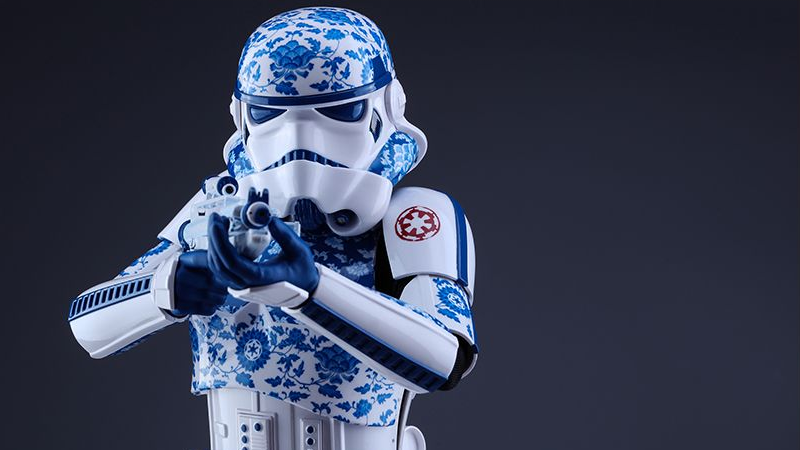 Illustration for article titled Porcelain Stormtrooper Is the World's Fanciest Imperial Soldier