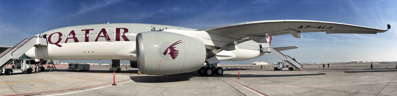 Illustration for article titled The Qatar Airways A350 -- Wow