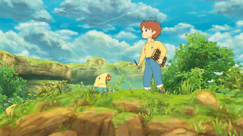 Illustration for article titled Eight Years Later, Ni No Kuni's DS Version Is Now Playable In English
