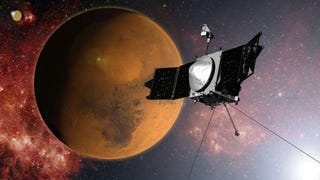 Illustration for article titled Maven makes it to Mars   :D