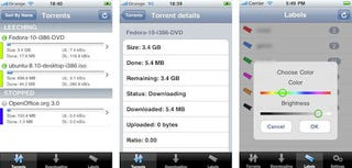 Illustration for article titled µTorrent iPhone App Rejected, Heads Over to Cydia