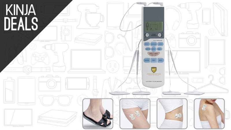 Illustration for article titled Try Out a TENS Electronic Pulse Massager For $16