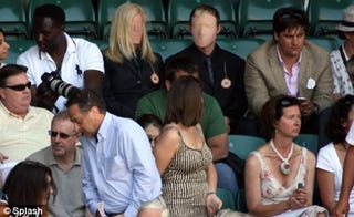 Illustration for article titled Faceless Spectators At Wimbledon Making Spectators With Faces Uncomfortable