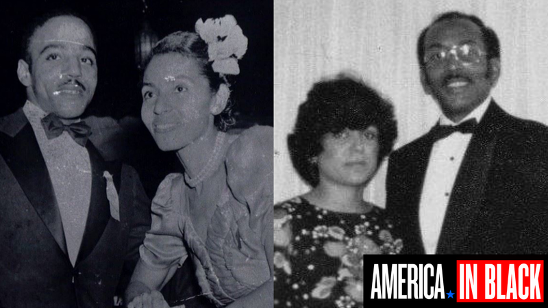 The writer's paternal grandparents, left, and her parents.