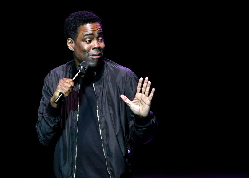 Chris Rock performs his stand-up comedy routine during a stop of his Total Blackout Tour on June 10, 2017, in Las Vegas. (Ethan Miller/Getty Images)