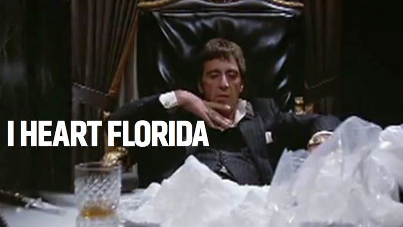 Illustration for article titled Cocaine Falling From The Sky Shows That Florida Has Always Been Nuts
