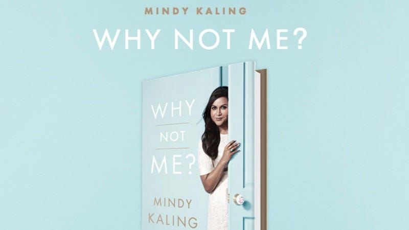Illustration for article titled Mindy Kaling's second quizzical book will be released this fall