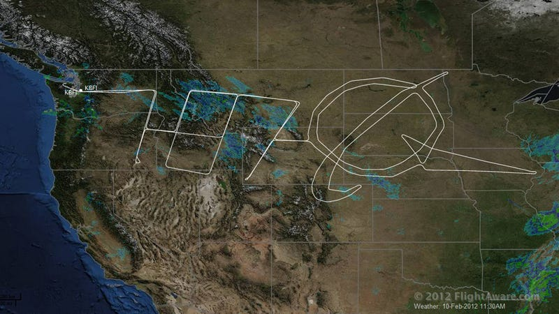 Illustration for article titled Boeing 787 Turns America Into Giant Etch-A-Sketch