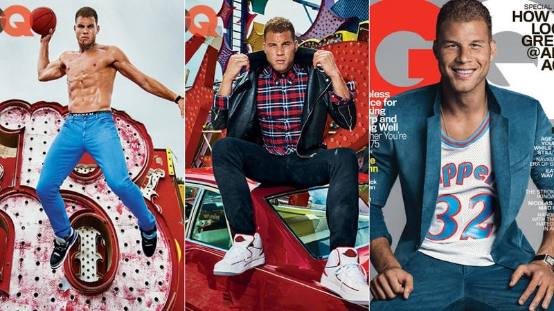 Illustration for article titled GQ Tries to Attract Millennials and Olds With Blake Griffin's Abs